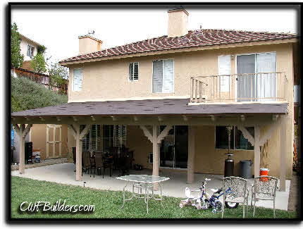 There Are Many Different Patterns To Choose From We Build Our Patios To  Last Heavy Duty Hardware Saddles Bolts And Hangers Are Always Used To With  Covered ...