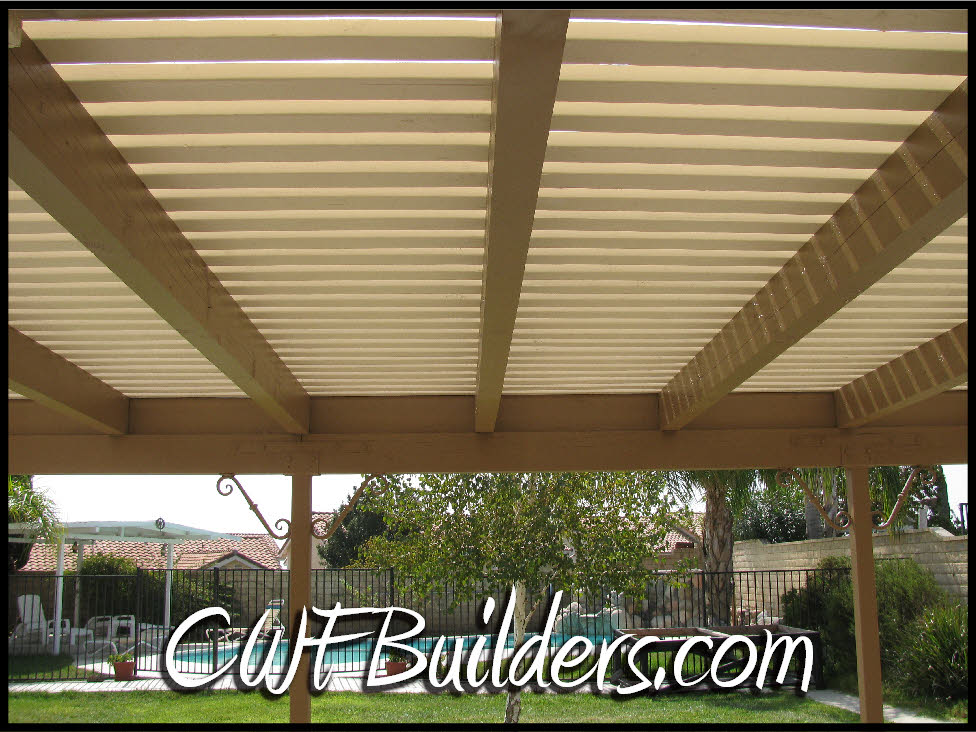 Superb Shade Bars With 16D Galvanized Gun Nails, Which Has Great Holding Power.