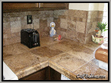 Here Is A Counter Top Made Of Porcelain Tile. The Colors And Designs In  Porcelain Tile Now Days Are Very Beautiful! There Is No Need To Worry About  The ...